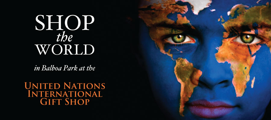 Shop the world in Balboa Park at the United Nations International Gift Shop